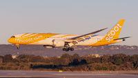 9V-OJD @ YPPH - Boeing 787-9. Scoot 9V-OJD. R03 YPPH 16/06/18. In the setting Winter Sun. - by kurtfinger
