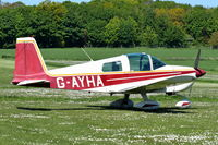 G-AYHA @ X3CX - Parked at Northrepps.