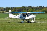 G-MSKY @ X3CX - Just landed at Northrepps.