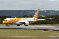 9V-OFG @ YPPH - Boeing 787-9. Scoot 9V-OFG, lining up on runway 03 YPPH  25/07/17. - by kurtfinger