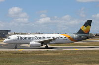 LY-VEN @ LMML - A320 LY-VEN Thomas Cook Airlines - by Raymond Zammit