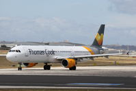 LY-VED @ LMML - A321 LY-VED Thomas Cook Airlines - by Raymond Zammit