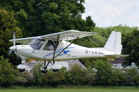 G-CEGL @ EGTH - Departing from Old Warden. - by Graham Reeve