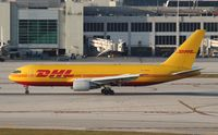 N798AX @ KMIA - DHL 767
