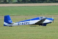 G-AZPC @ EGSU - Departing from Duxford