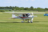 G-CIXY @ EGTH - Just landed at Old Warden.