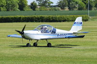 G-CCZZ @ EGTH - Departing from Old Warden.