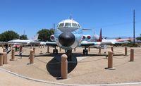 N814NA @ KPMD - NASA Jetstar