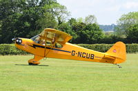 G-NCUB @ EGTH - Just landed at Old Warden.