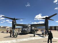 05-0029 @ KABQ - CV-22 on display - by John Hodges