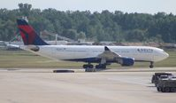 N852NW @ KDTW - Delta - by Florida Metal