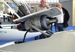 LY-GRO @ EDNY - Sportine Aviacija LAK-17B Mini FES (front electric sustainer) and retractable turbojet at the AERO 2019, Friedrichshafen