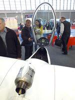 D-KKCT @ EDNY - M&D Flugzeugbau JS-MD3 Rapture with retractable turbojet at the AERO 2019, Friedrichshafen