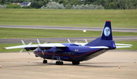 UR-CNT @ EGBB - Parked on the elmdon apron - by Michael Vickers