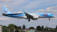 OO-TEA @ EBAW - Landing of flight TB1402 from Palma de Mallorca. - by Raymond De Clercq