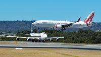 VH-VUY @ YPPH - Boeing 737-8KG. Virgin Australia, VH-VUY runway 03. YPPH 03/03/18. - by kurtfinger