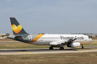 LY-VEN @ LMML - A320 LY-VEN Thoms Cook Airlines - by Raymond Zammit
