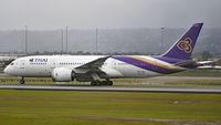 HS-TQA @ YPPH - Boeing 787. Thai International HS-TQA, runway 03 YPPH 08/09/18.