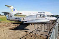 42 @ LFRU - Morane-Saulnier MS.760 Paris, Static display, Morlaix-Ploujean airport (LFRU-MXN) air show 2017 - by Yves-Q