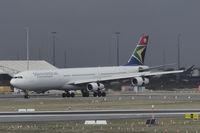 ZS-SXA @ YPPH - Airbus A340-313. South African Airways ZS-SXA ex Johannesburg (JNB) runway 21, YPPH 14/06/19.