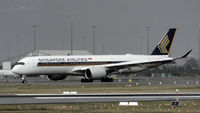 9V-SHD @ YPPH - Airbus A350-900. Singapore Airlines 9V-SHD, YPPH 140619