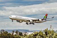 ZS-SNI @ YPPH - Airbus A340-600. South African Airways ZS-SNI, final runway 03 YPPH 16 Apr 2016.