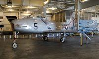 132057 - FJ-2 Furty U.S.S. Hornet