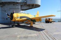138349 - T-28B U.S.S. Hornet