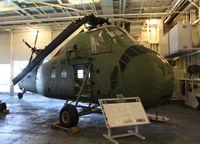 150553 - UH-34D U.S.S. Hornet display