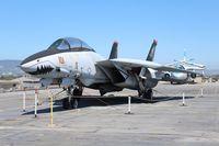 162689 - F-14A U.S.S. Hornet display