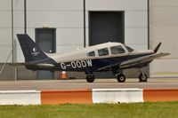 G-OODW @ EGSH - Nice Visitor.