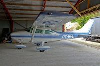 OY-BFL - on an airstrip near Hov DK