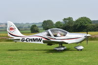 G-CHMW @ X3CX - Just landed at Northrepps. - by Graham Reeve