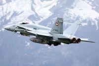 J-5010 @ LSMM - Take off at Meiringen, Switzerland
