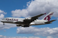 A7-APD @ EGLL - Landing RWY 27L - by DominicHall