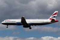 G-EUXC @ EGLL - Landing RWY 27L - by DominicHall