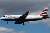 G-EUPW @ EGLL - Landing RWY 27L - by DominicHall