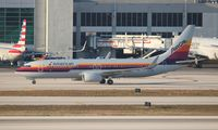 N917NN @ KMIA - Air California livery