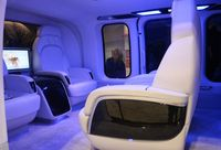 UNKNOWN - Bell 525R mock up NBAA 2016