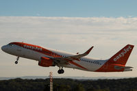 G-EZWL @ EGGD - Early morning Departure from RWY 27 - by DominicHall