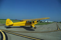N3463K @ KOXV - Visitor at the Ercoupe owners convention - by Floyd Taber