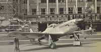 265 - II Exposición Aeronáutica en la explanada Municipal. Año 1957. foto Manuel Lanza. - by aeronaves CX