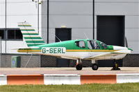 G-SERL @ EGSH - Parked at Norwich. - by Graham Reeve