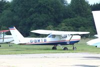 G-BMTB @ EGSG - Parked at Stapleford Tawney with several others owned by the local Flying Club.   - by Chris Holtby