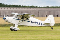 G-PAXX @ EGBR - Piper PA-20 Pacer 135 G-PAXX, Breighton 30/6/19 - by Grahame Wills