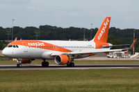 G-EZWL @ EGGD - Landing RWY 27 - by DominicHall