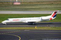 F-GRGK @ EDDL - Embraer ERJ-145LU - A5 HOP HOP! opby RAE Regional CAE - 145324 - F-GRGK - 27.07.2016 - DUS