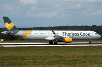 G-TCDE @ EGGD - Departing RWY 09 - by DominicHall
