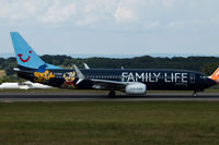 G-FDZG @ EGGD - Departing RWY 09 - by DominicHall