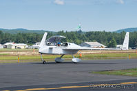 N399BR @ KORE - Taxiing at Orange, MA - by Dave G